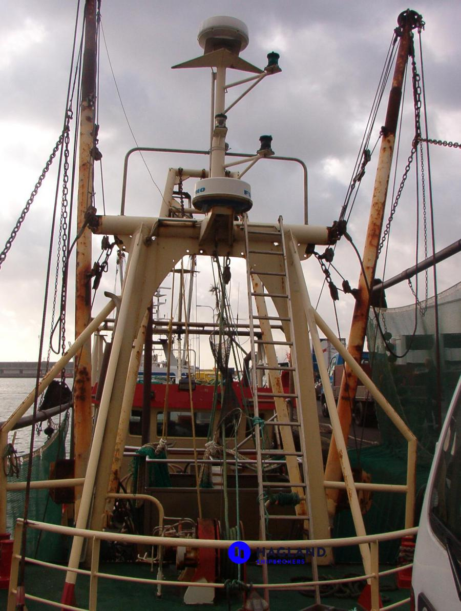 Trawler Engine Room: Beam Trawlers And Musseldredgers